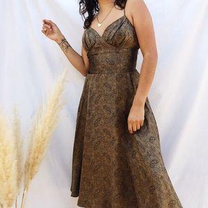 Betsey Johnson paisley dress